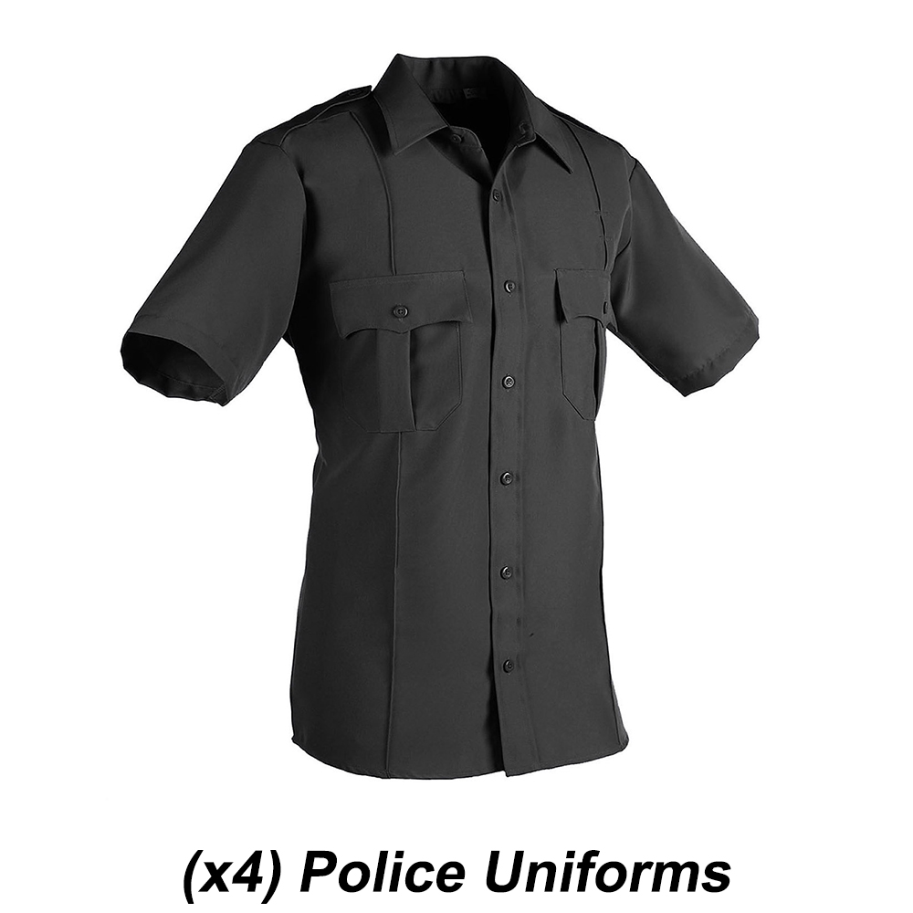 Whitley Films Police Uniforms