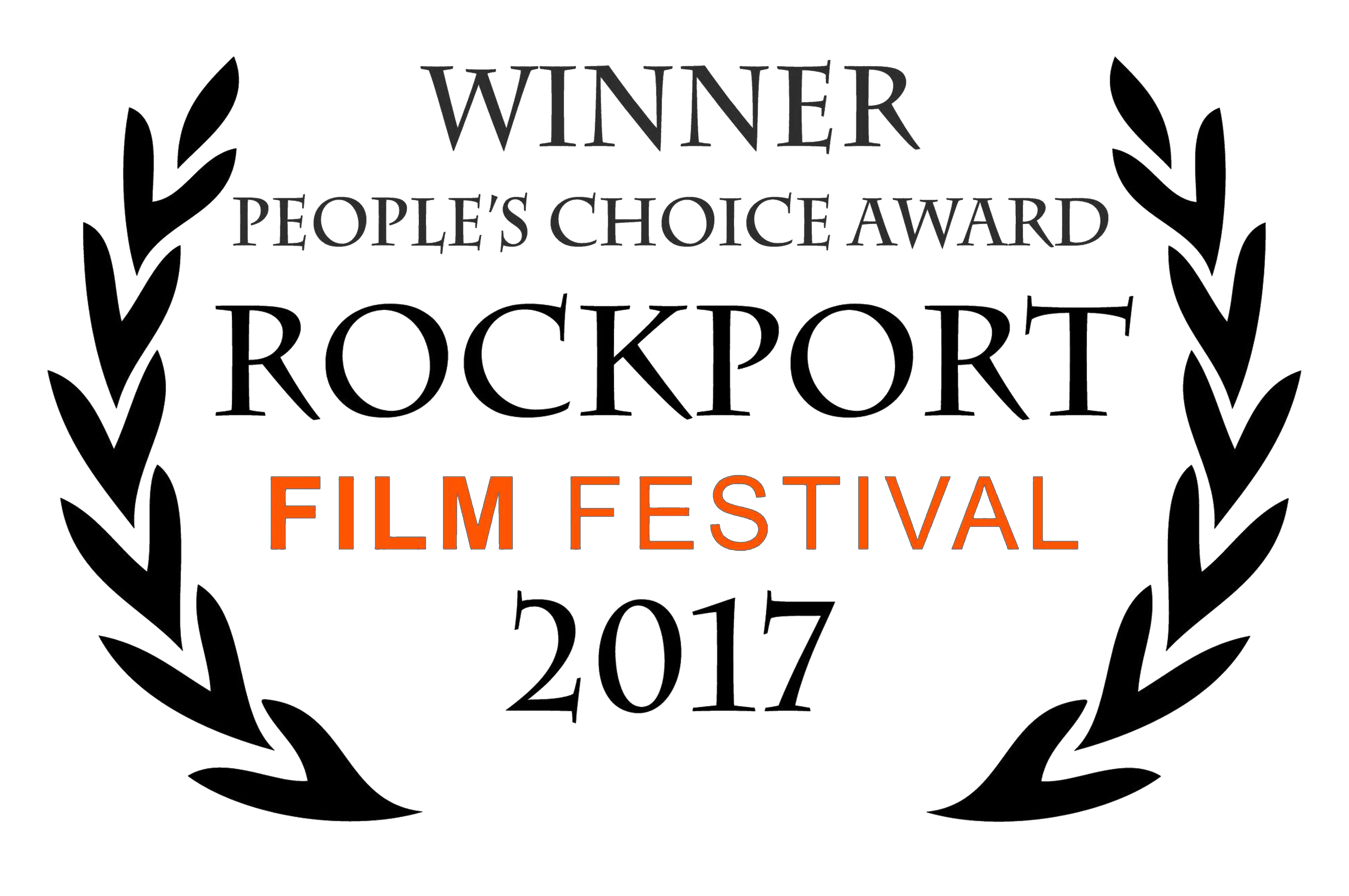 Winner peaple's choice award for RockPort film festival 2017