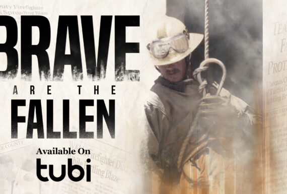 Brave are the Fallen Banner w TubiTv bottom