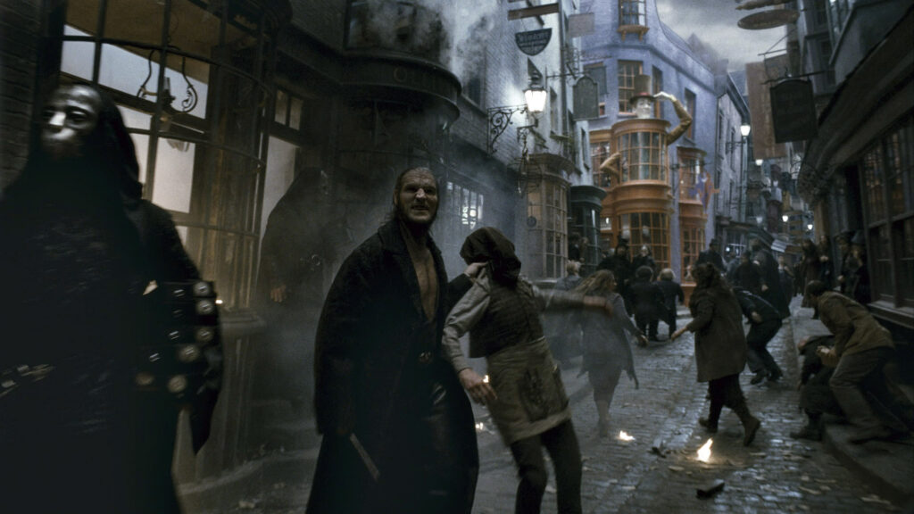 An image of Fenrir Greyback from Harry Potter